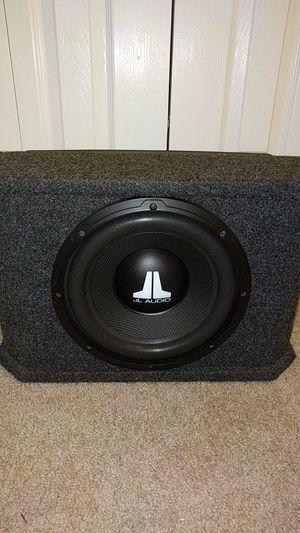 """JL Audio 10"""" Subwoofer w/ Amp for Sale in Alexandria, VA"""