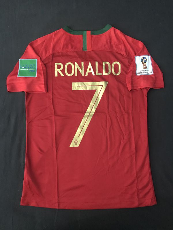 new concept 9b5c5 55d1e Ronaldo Portugal Jersey 2018 World Cup Red Russia for Sale in Loma Linda,  CA - OfferUp