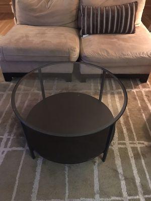 IKEA Vittsjo Round Coffee Table for Sale in Washington, DC