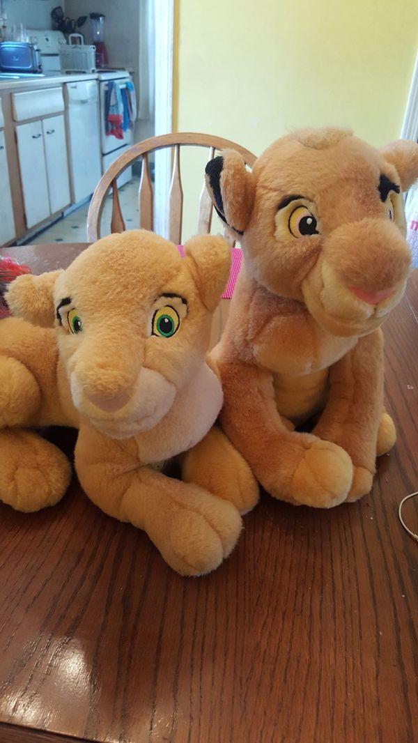 Disney Lion King Simba And Nala Stuffed Animal Games Toys In