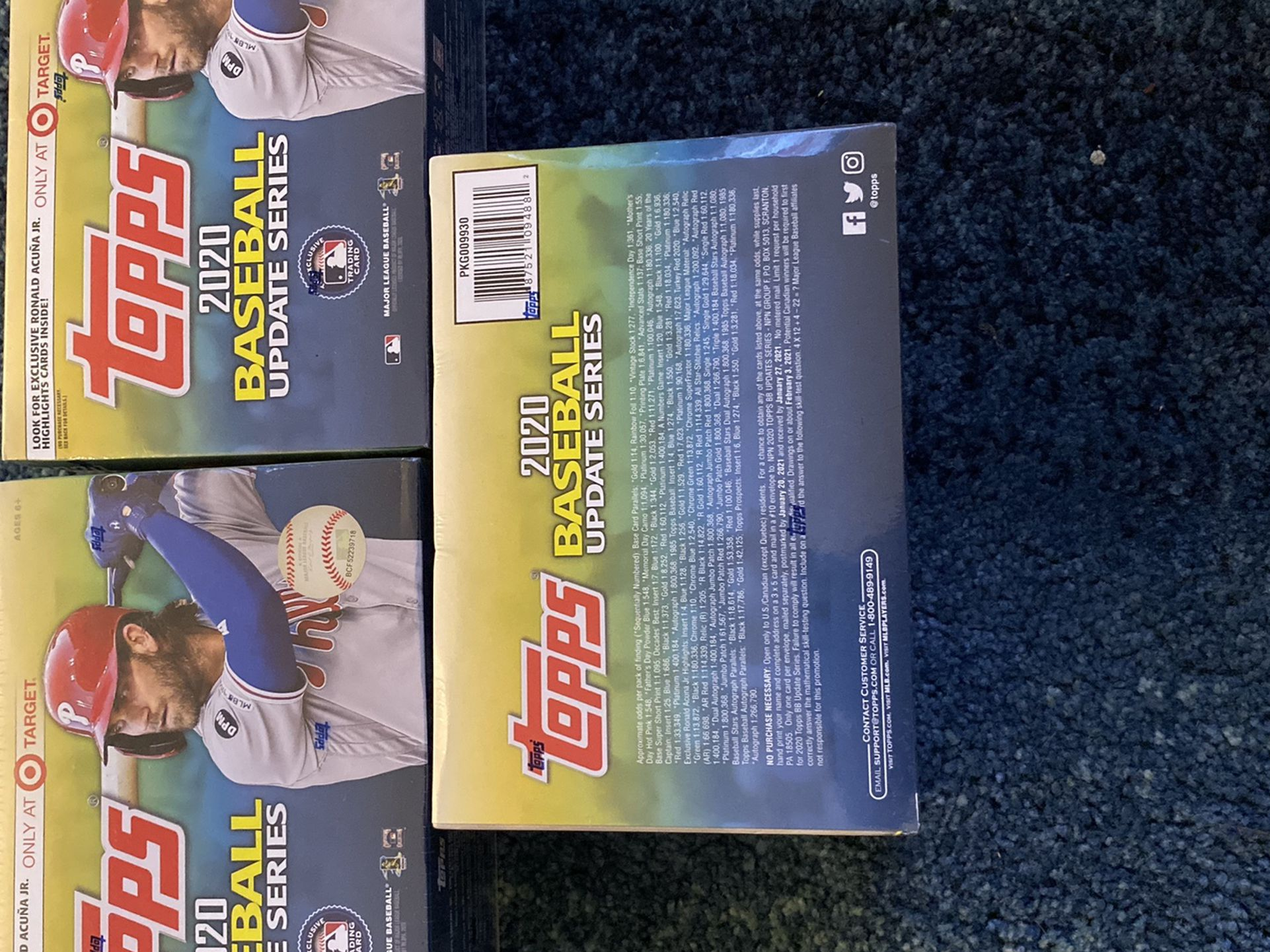 ( OFFERS ) 2020 Topps MLB Baseball Update Series Mega Box Target Exclusive FACTORY SEALED