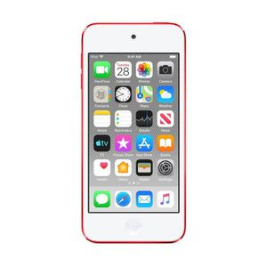 Photo IPod touch 7th generation 256gb RED with clear case