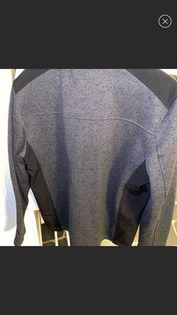 Gerry Mens Full Zip Mix Media Jacket Thumbnail