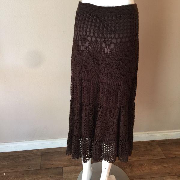 9c6bcf774490 Anthropologie crochet skirt for Sale in Corona, CA - OfferUp