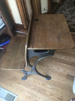 Antique school desk for Sale in Leesburg, VA