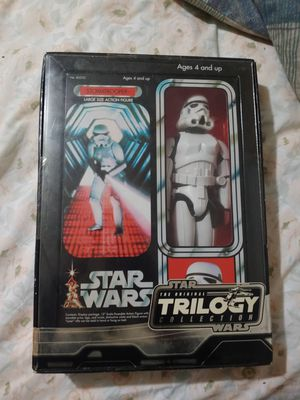 Star Wars stormtrooper collectible large size action figure Star Wars the original trilogy collection great collectible present for Sale in Olympia Heights, FL