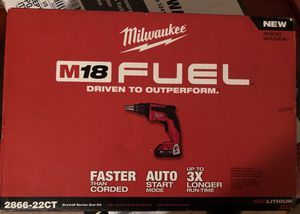 Milwaukee drywall drill new sealed for Sale in Orlando, FL