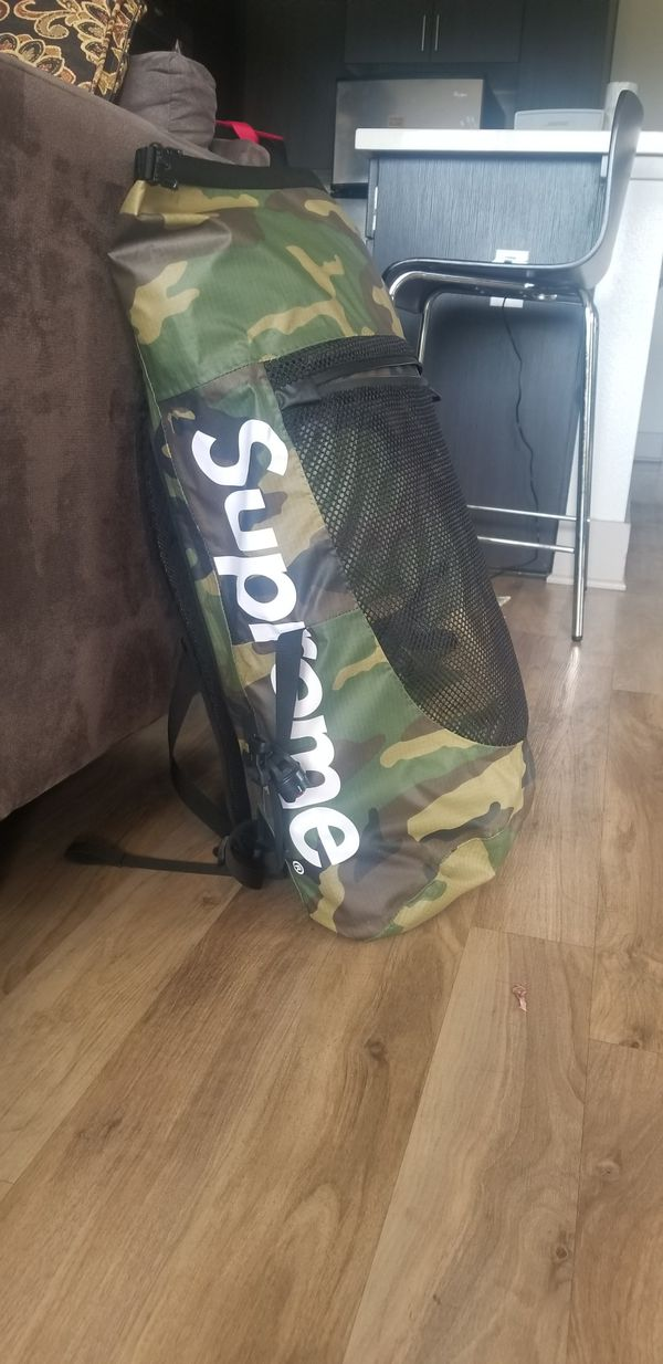 236e86448a Supreme x The North Face Woodland Camo Backpack for Sale in San ...