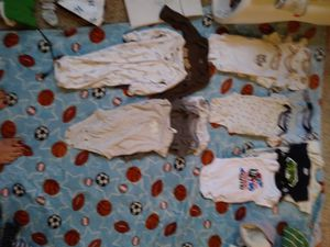 Gerber nb to 3 month boys onsies for Sale in Seattle, WA