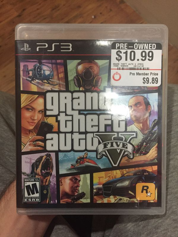 Gta 5 ps3 for Sale in Los Angeles, CA - OfferUp