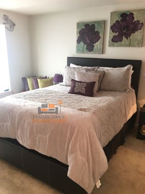 Brand New Queen Size Leather Platform Bed Frame ONLY ( 4 Color Options) for Sale in Silver Spring, MD