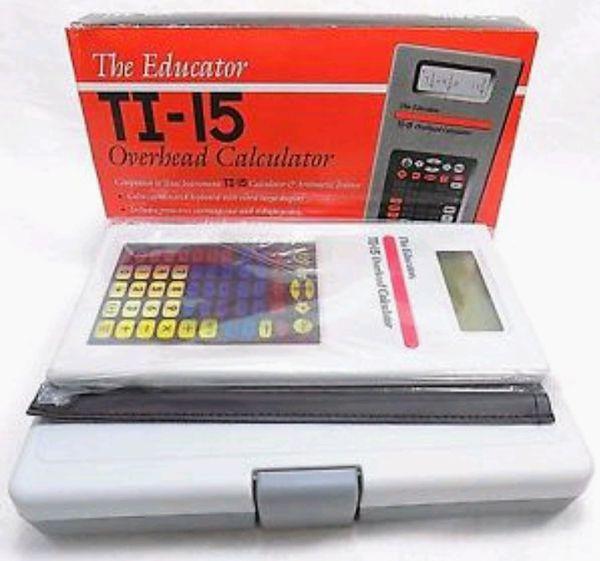 NEW IN BOX Stokes Publishing TI-15 Overhead Calculator for Sale in Everett,  WA - OfferUp