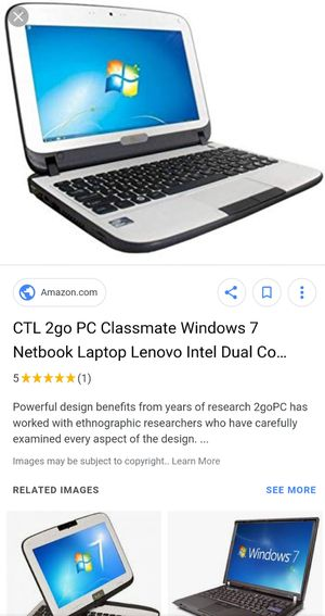 CTL 2go PC Classmate netbook Laptop Lenovo for Sale in Rochester, NY -  OfferUp