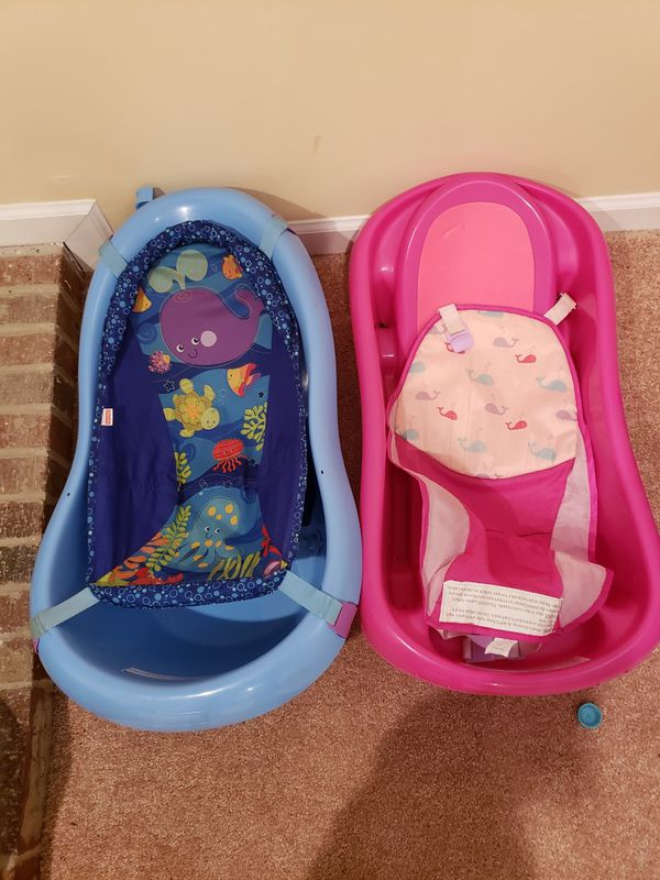 baby bath tub (pink and blue) for Sale in Gaithersburg, MD - OfferUp