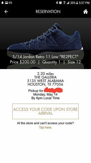 86939a4449643f Nike Air Jordan Retro 11 low Derrick Jetter for Sale in Houston
