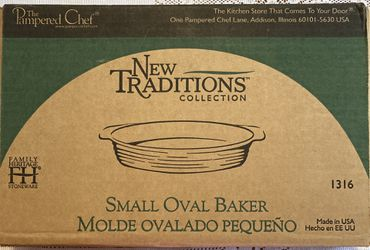 Pampers Chef Small Oval Baker Thumbnail