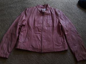 Leather jacket for Sale in Washington, DC