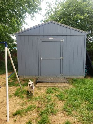 Photo 2 sheds 12× 12 and 8× 6 asking new