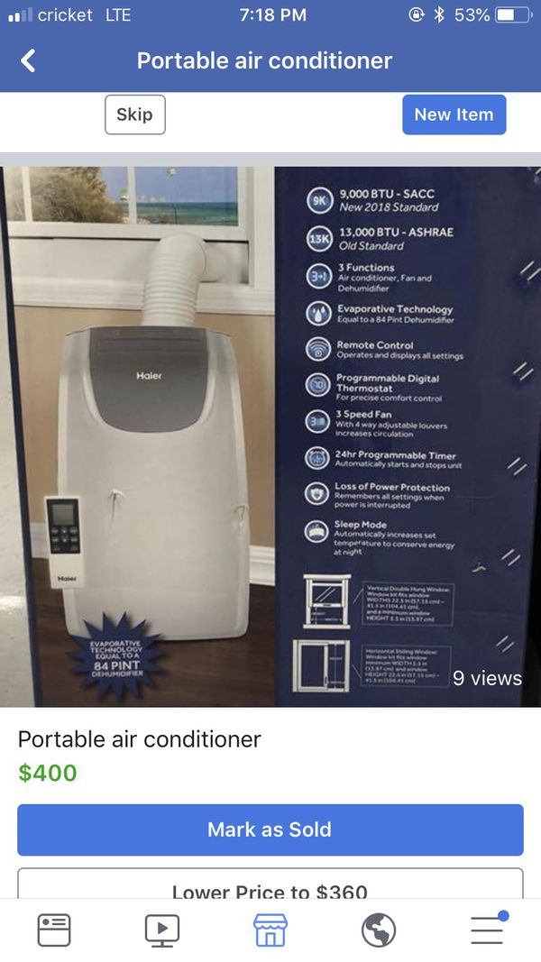New and Used Air conditioners for Sale in Baltimore, MD