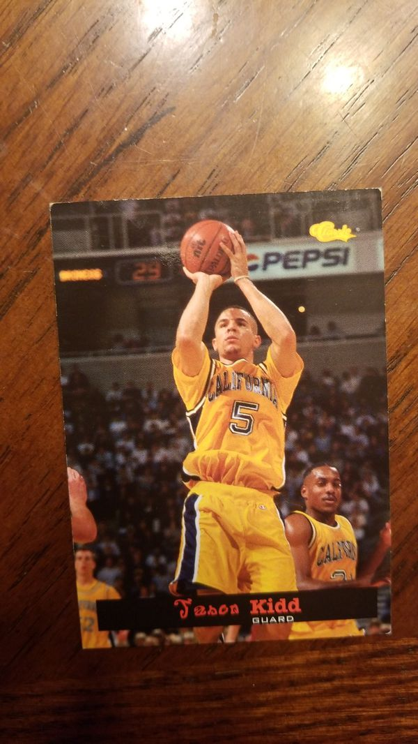94 Classic Brand Jason Kidd Rookie Card For Sale In Arlington Wa Offerup