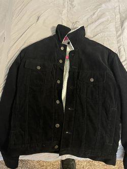 H&M Black Jean Jacket  Thumbnail