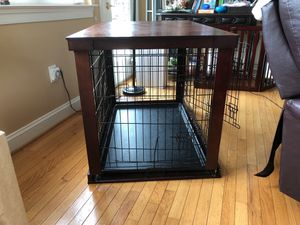 Dog crate ( wooden) for Sale in Ijamsville, MD