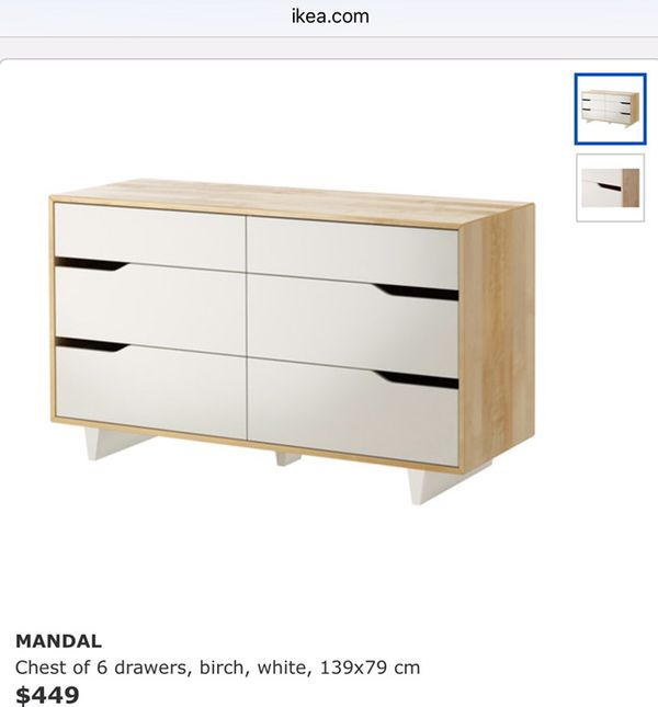 Ikea Mandal Bed Queen With Tete De Lit