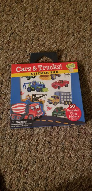 b0157217d31 Kids Cars and Trucks Sticker Fun for Sale in East Moriches