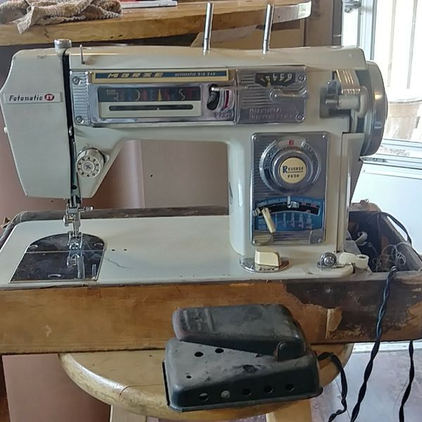 Vintage Sewing Machine Morse Fotomatic Iv 40 For Sale In Marietta Simple Morse 4400 Sewing Machine