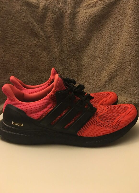newest d3836 94184 Solar Red Ultra Boost 1.0 Custom for Sale in Torrance, CA - OfferUp