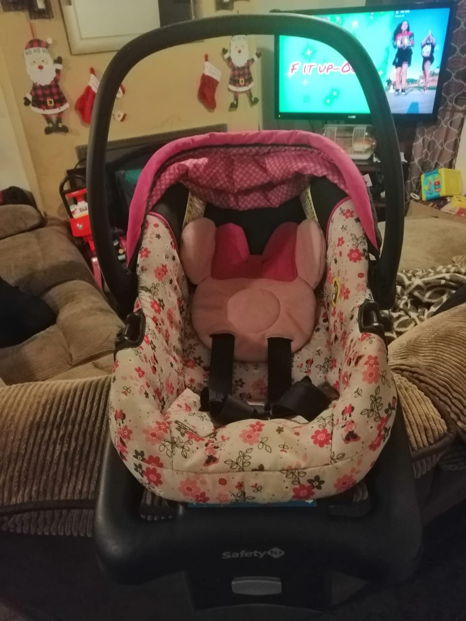 Minnie Car Seat And Stroller