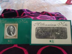 Millennium $2 note series 1995 for Sale in Denver, CO