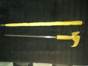 Walking cane with sword for Sale in Clovis, CA