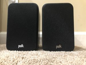 Polk Signature S10 bookshelf speakers (pair) for Sale in McLean, VA
