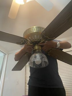 Ceiling fan with light Thumbnail
