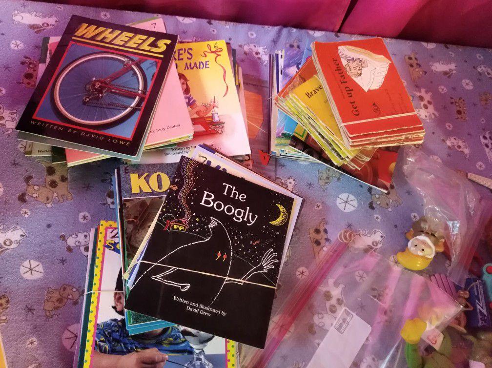 Homeschooling first readers k-2