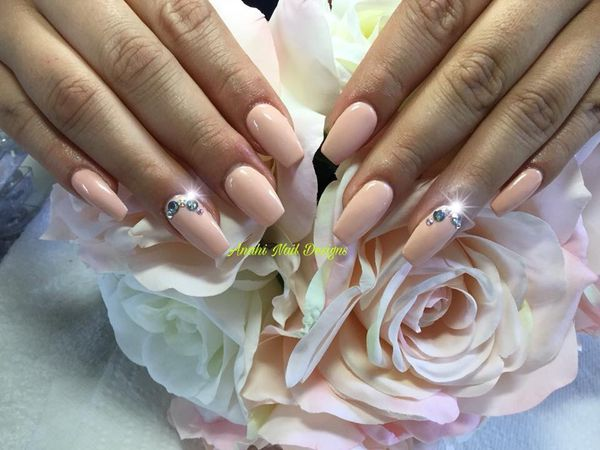 Acrylic Nails Nochip Manicure Gel Nails Nail Art And More For
