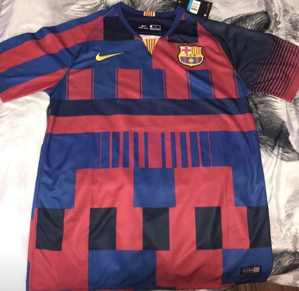 cheaper 9b4a5 2e5b4 Nike Barcelona special kit// size medium for Sale in Elizabeth, NJ - OfferUp