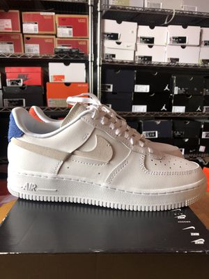 Photo Brand new Nike Air Force 1 White shoes women's 10, men's 8.5