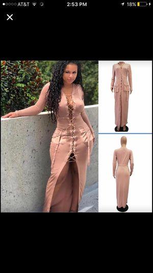 Pink starburst Maxi dress for Sale in Fort Washington, MD