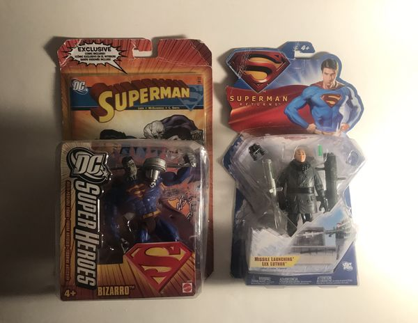 2006 DC Superheroes Bizarro & Superman Returns Lex Luther Figure Lot (2)  for Sale in Boynton Beach, FL - OfferUp