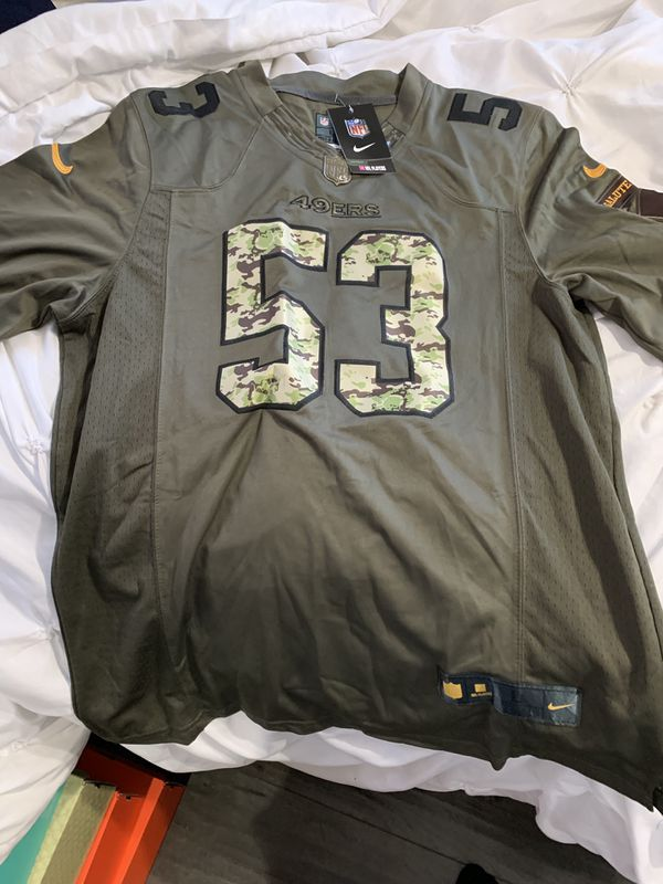 newest a1bfb 85475 49ers Salute to Service Jersey Large for Sale in Pomona, CA - OfferUp