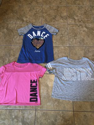 Photo Girls justice tips size 10