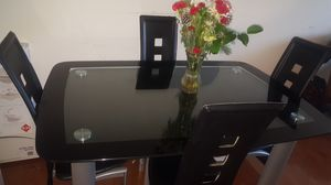Dining table with 4 chairs for Sale in Washington, DC