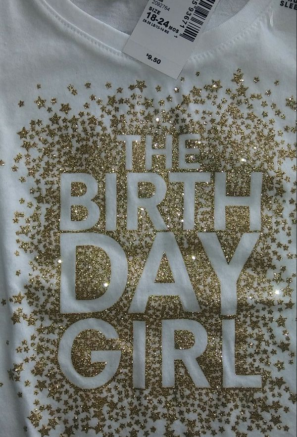 Birthday Girl Shirt Baby Kids In Lackawanna NY