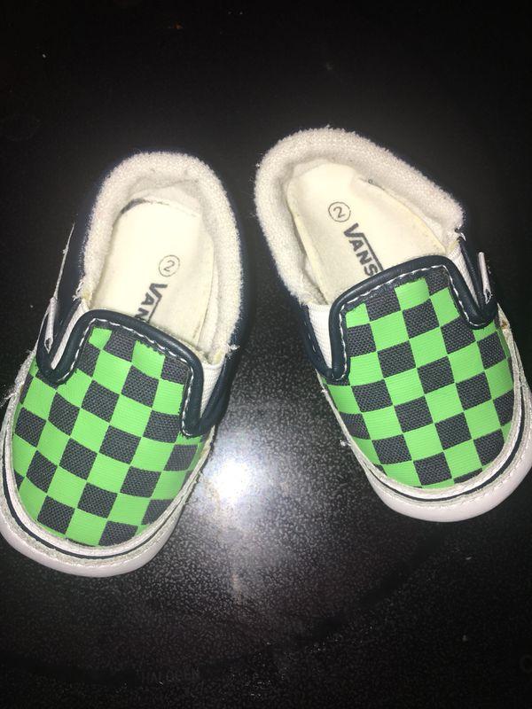 636424e6d5f4bc Baby vans size 2 (Baby   Kids) in Phoenix