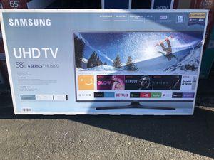 "Samsung UN58MU6070 58"" 4K UHD HDR LED Smart TV *FREE DELIVERY* for Sale in Renton, WA"
