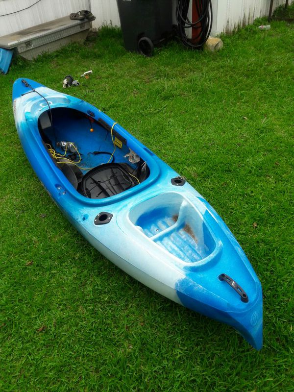 Old town kayak was used for one month at store it cost about 600 dollars  for Sale in Pasadena, TX - OfferUp