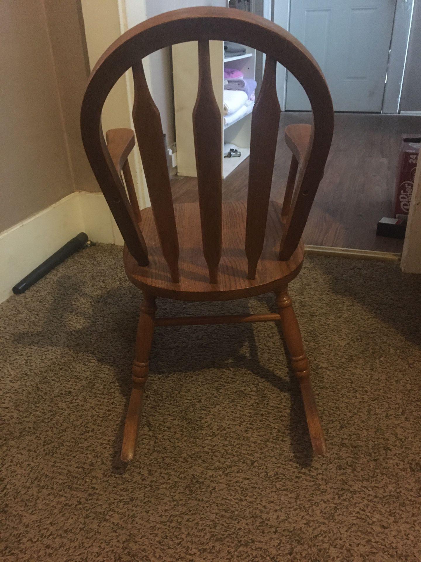Kids Antique Rocking Chair