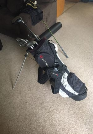 Golf Clubs: Titleist DCI iron golf clubs 3-PW, Ping putter, Odyssey golf bag with stand, and Taylor Made Driver for Sale in Santa Monica, CA
